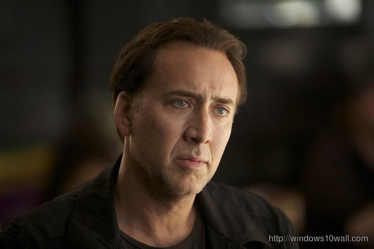 Hollywood Movie Star Nicolas Cage HD Wallpaper