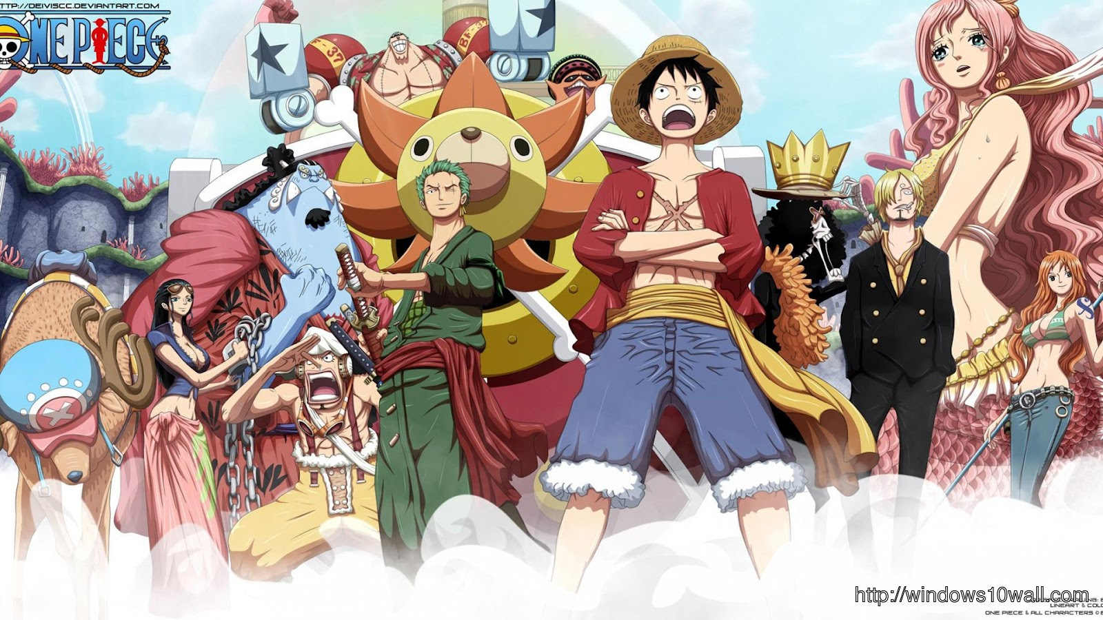One Piece Desktop Wallpaper Windows 10