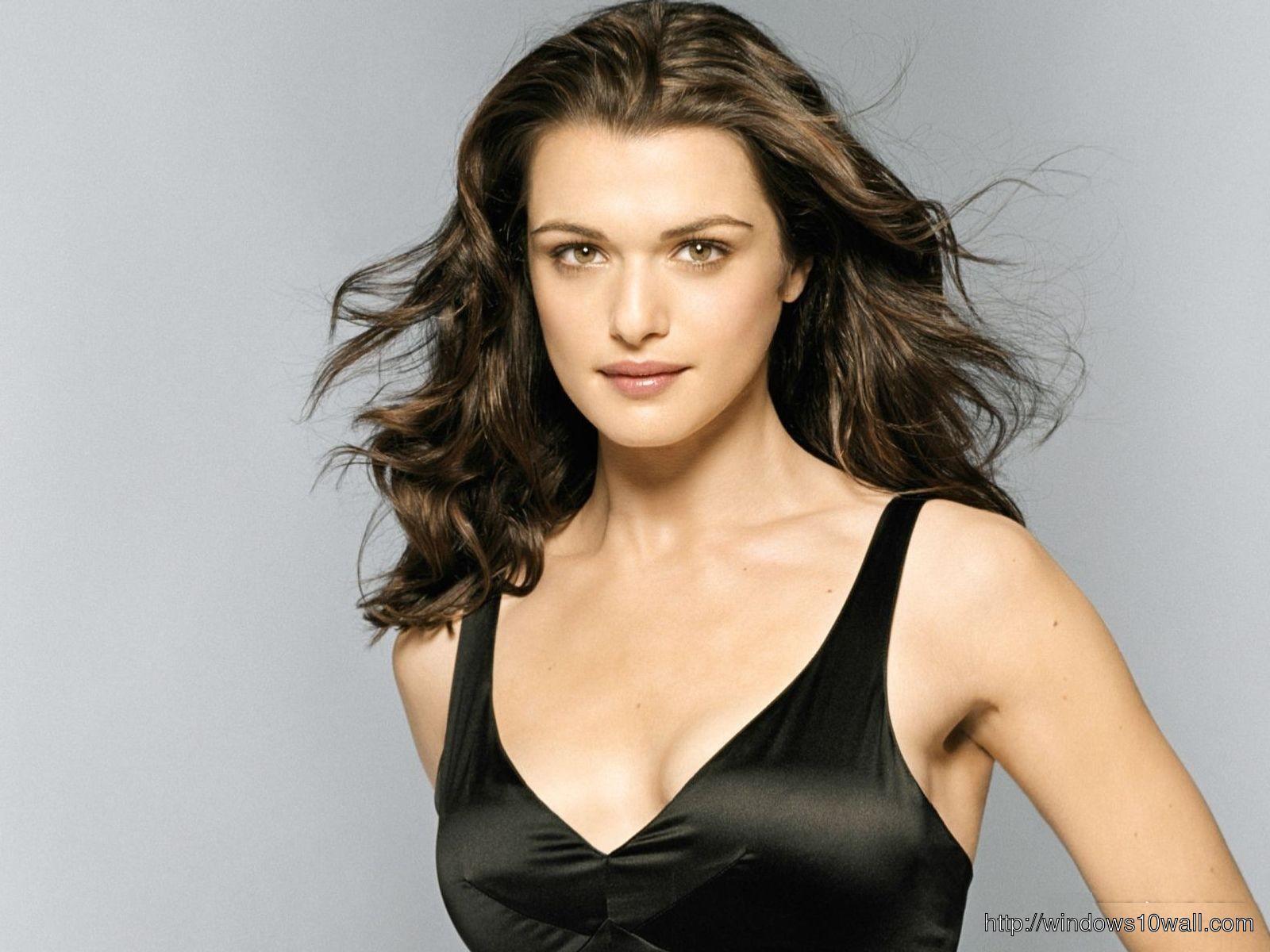 Rachel Weisz in Hot Black Dress Wallpaper