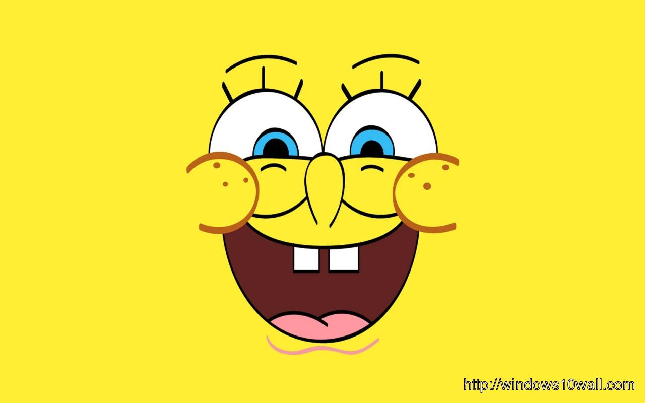 Yellow Spongebob Background Wallpaper