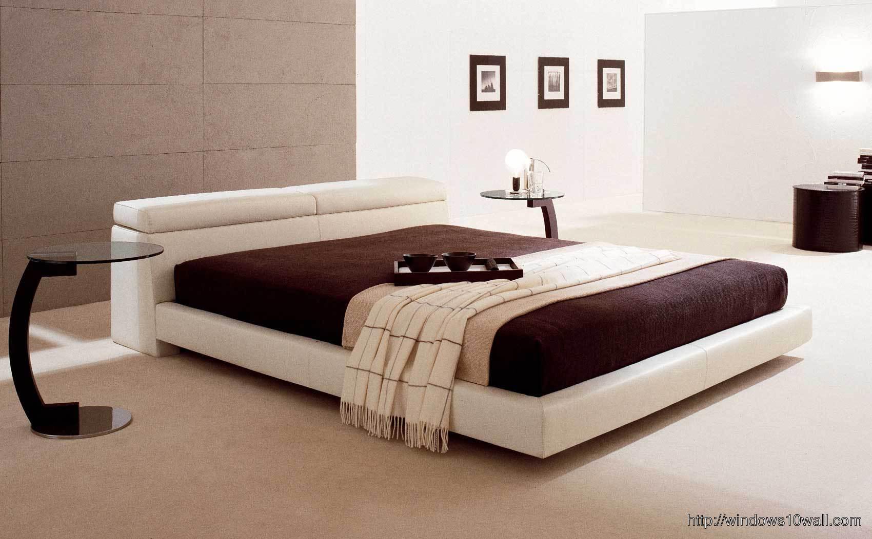 Stunning Modern Master Bedroom Design Background Wallpaper