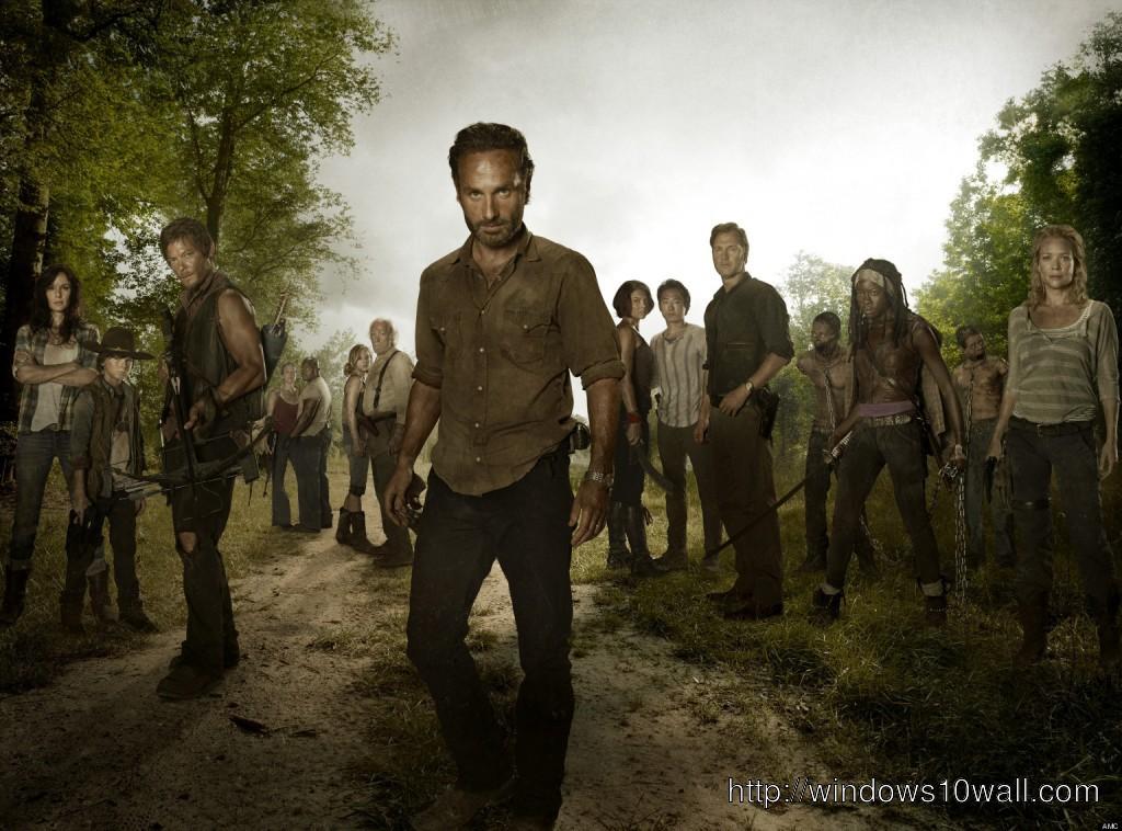 The Walking Dead Season 4 Preview Background Wallpaper