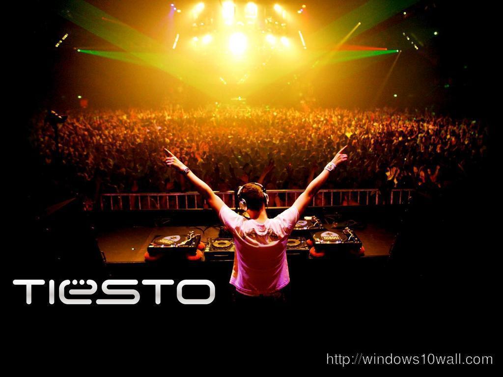 Tiesto Logo Desktop Background Wallpaper