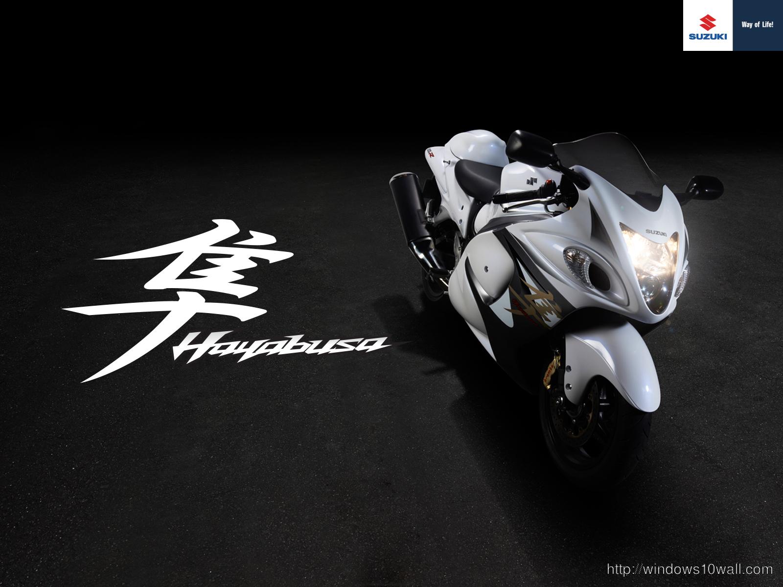 Suzuki Gsxr 1300 Hayabusa 2013 Desktop Background