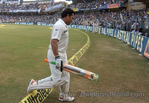 Sachin Tendulkar Getting Out in 200th Test Match
