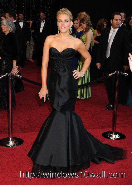 Special Occasion Black Celebrity Dress Pic