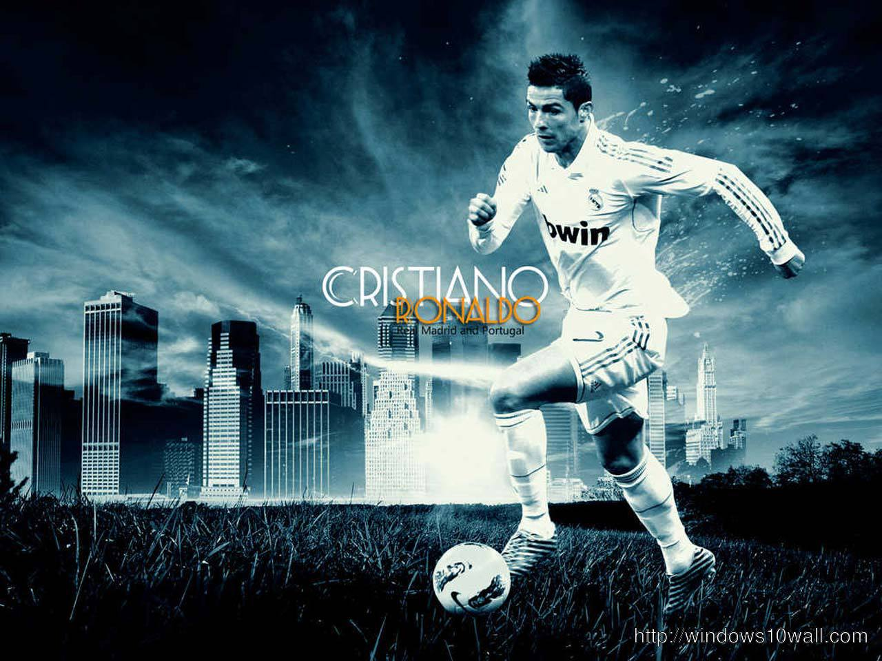 New Cristiano Ronaldo 7 Madrid Wallpaper
