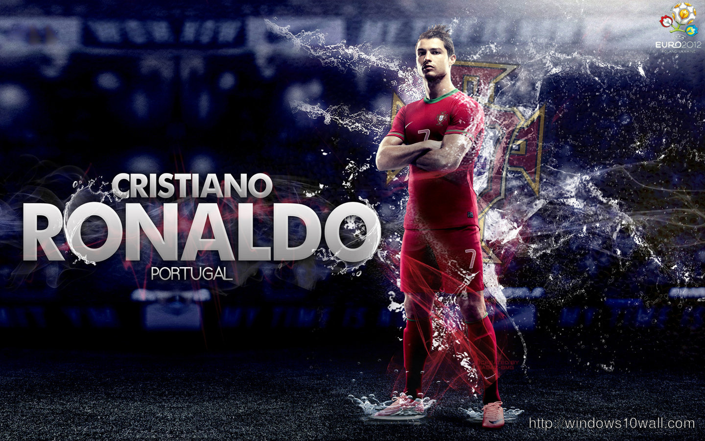 New Cristiano Ronaldo Portugal HD Wallpaper