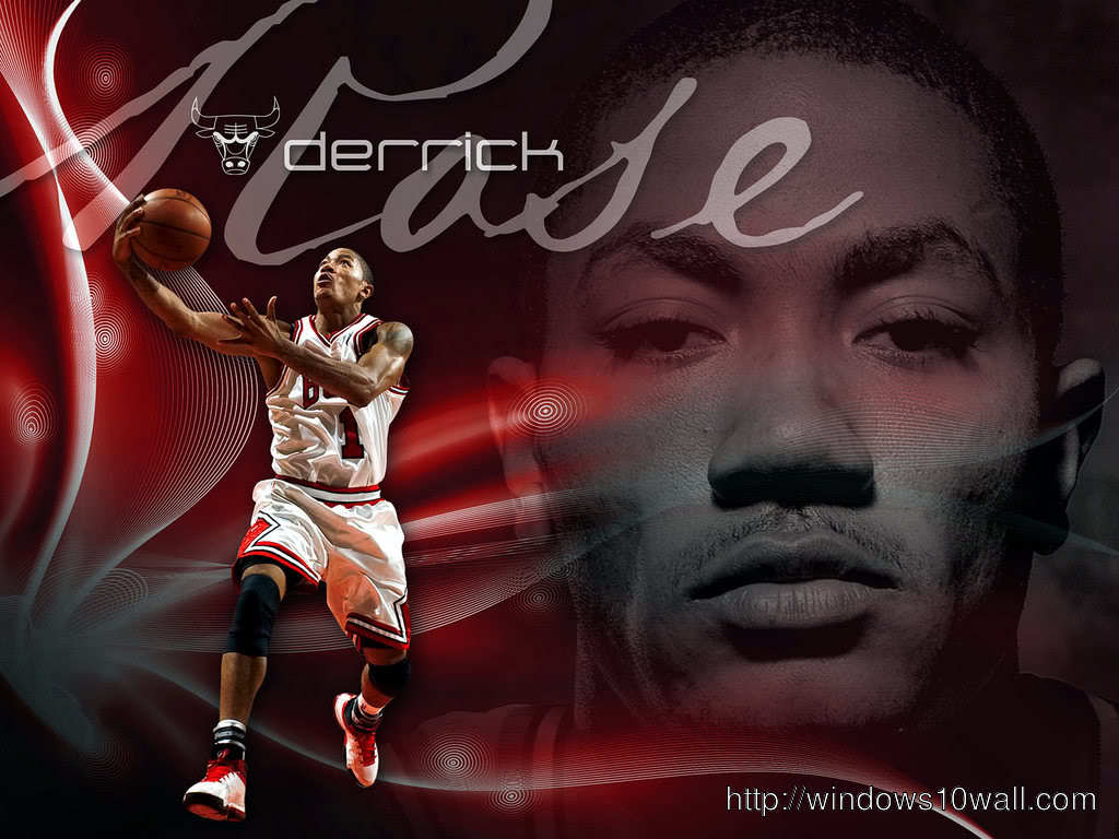 Derrick Rose Football Player Background Wallpaper