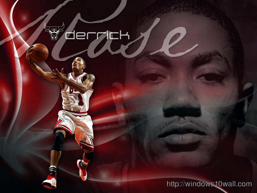 Derrick Rose Football Player Background Wallpaper