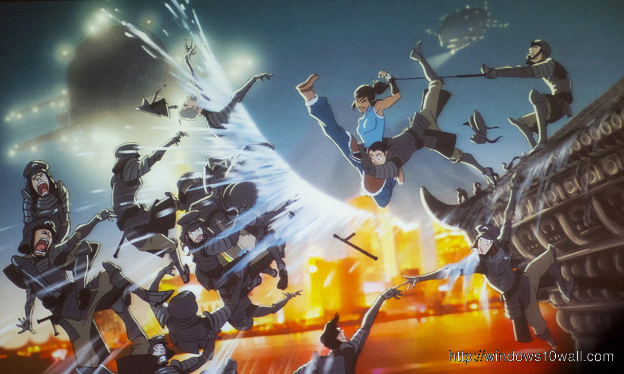 The Legend Of Korra Action Wallpaper