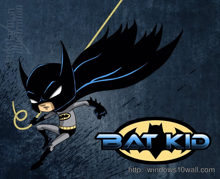 Bat Kid Background Wallpaper