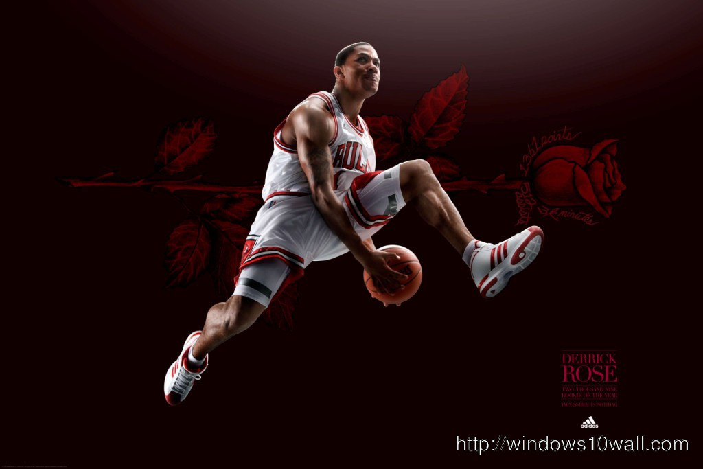 Derrick Rose Great Football Player Wallpaper