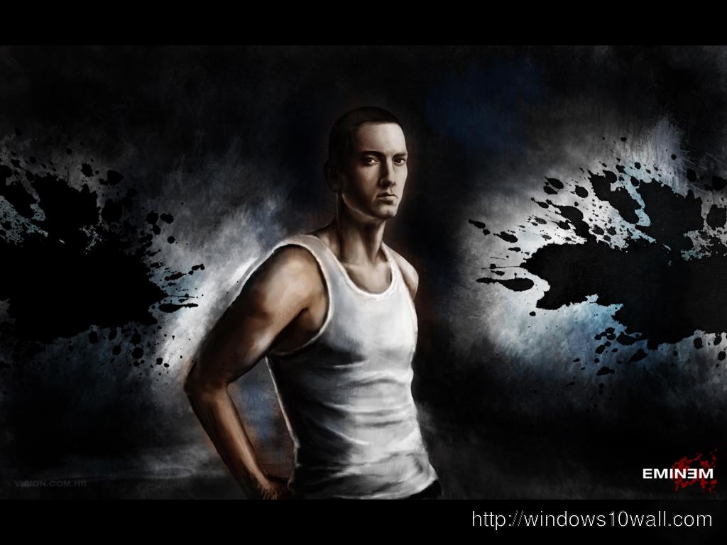 Eminem Background Wallpaper