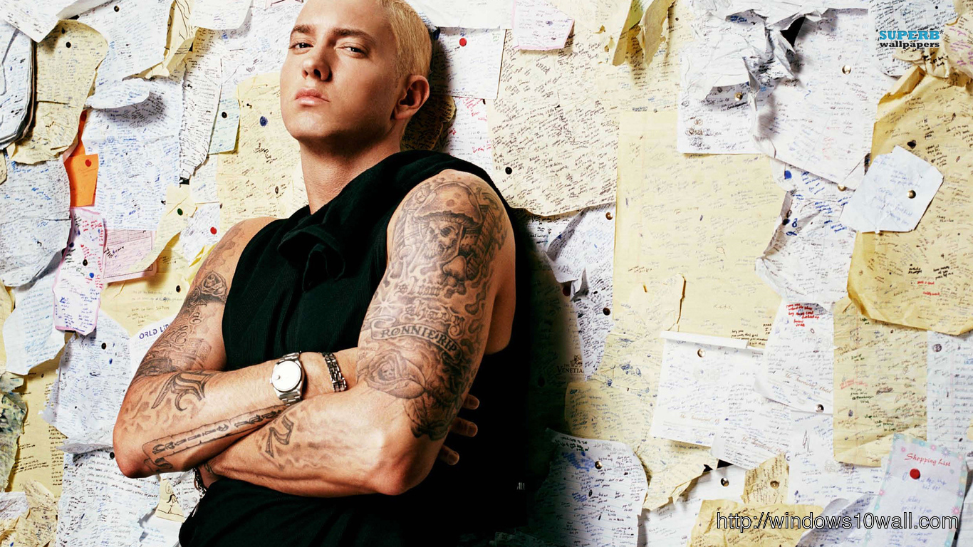 Eminem Stylish Wallpaper