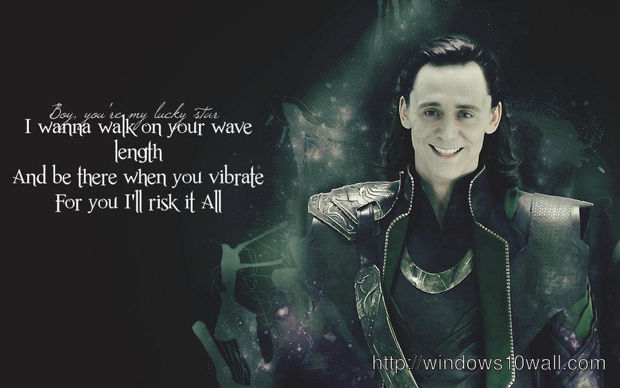 Loki in Avengers Movie Wallpaper