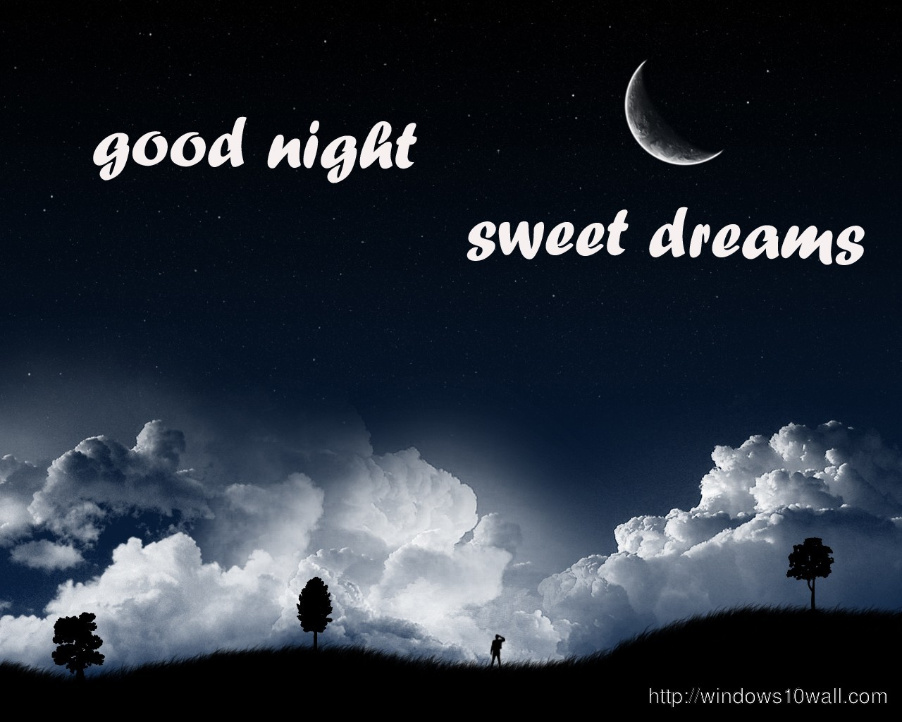 good night friends sweet dreams wallpaper