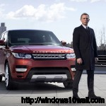 James Bond Range Rover Sport 2014 HD Background Wallpaper
