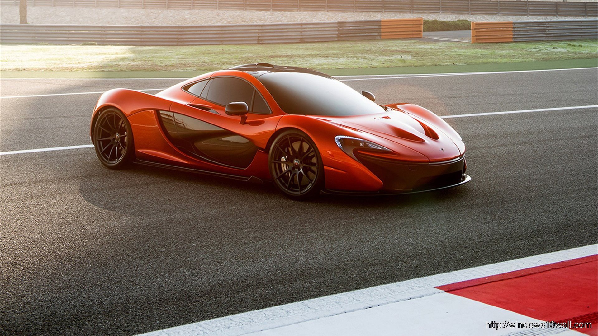 Mclaren p1 2014 HD Background wallpaper