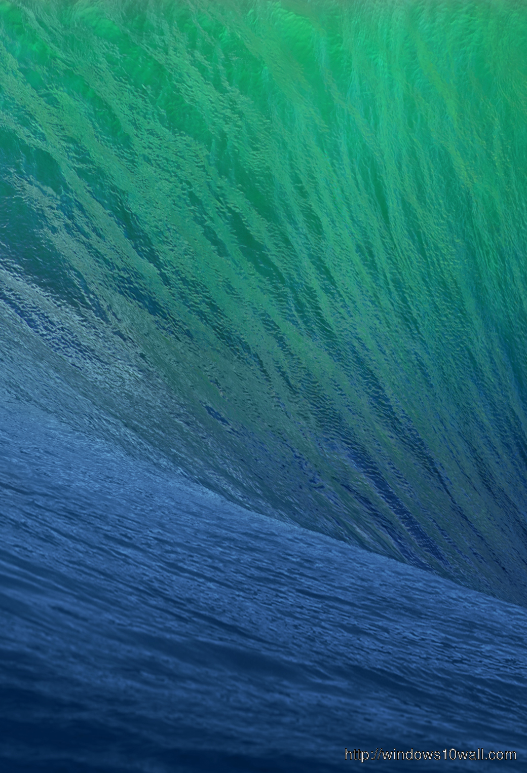 Sea Waves Blue Green iphone 5 Background Wallpaper