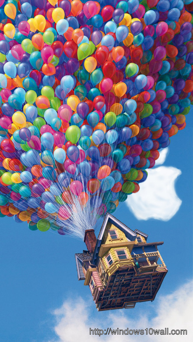 Up Movie iPhone 5 Background wallpaper