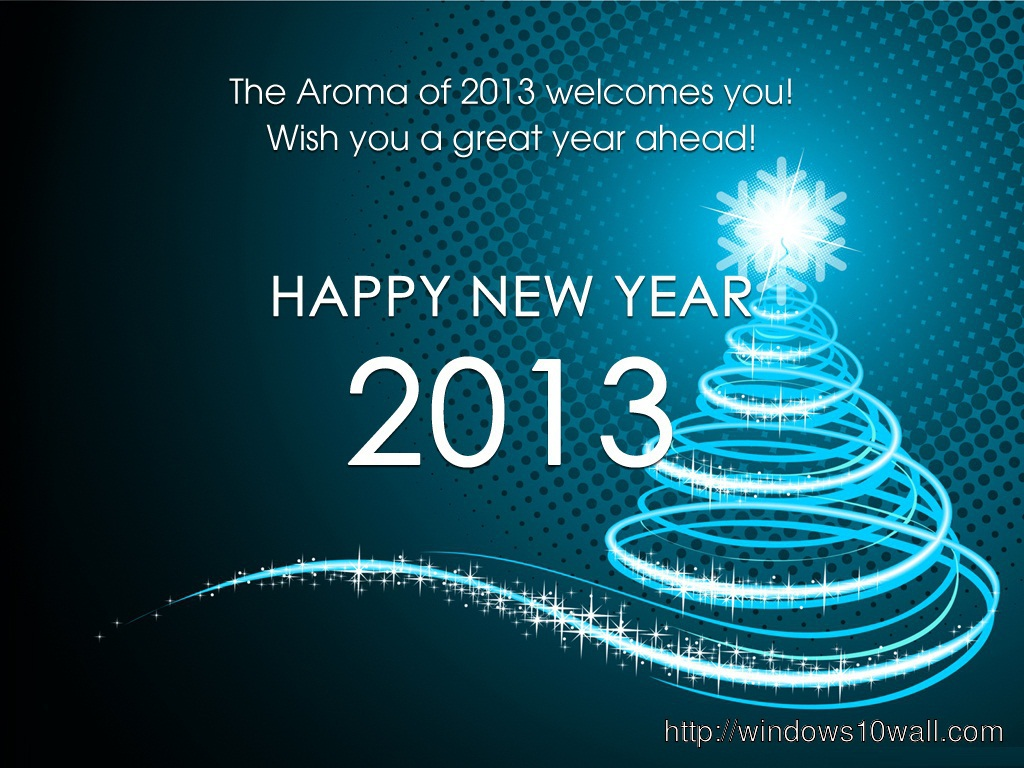 Wishing Happy New Year 2014 Background Wallpaper