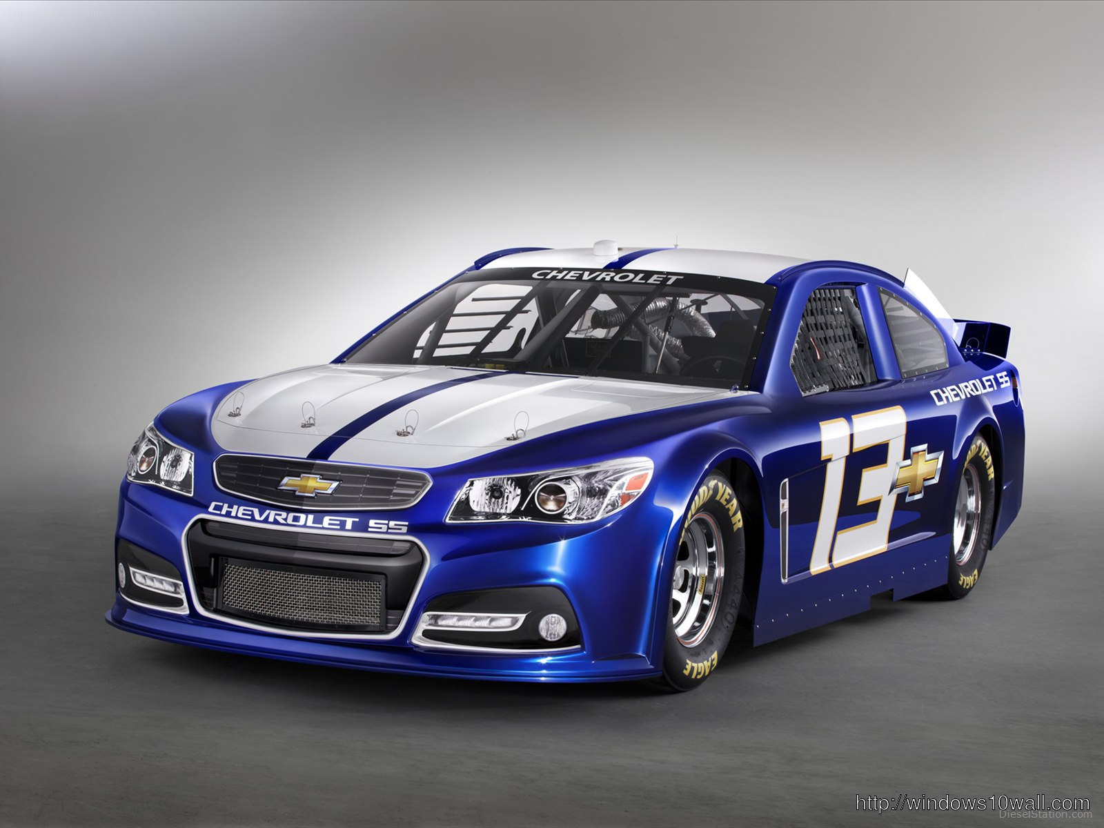2013 Chevrolet SS NASCAR Race Car Background Wallpaper