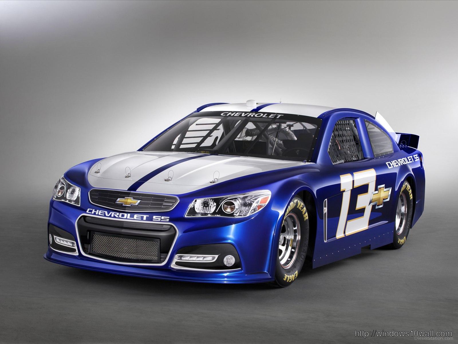 2013 Chevrolet SS NASCAR Race Car Background Wallpaper