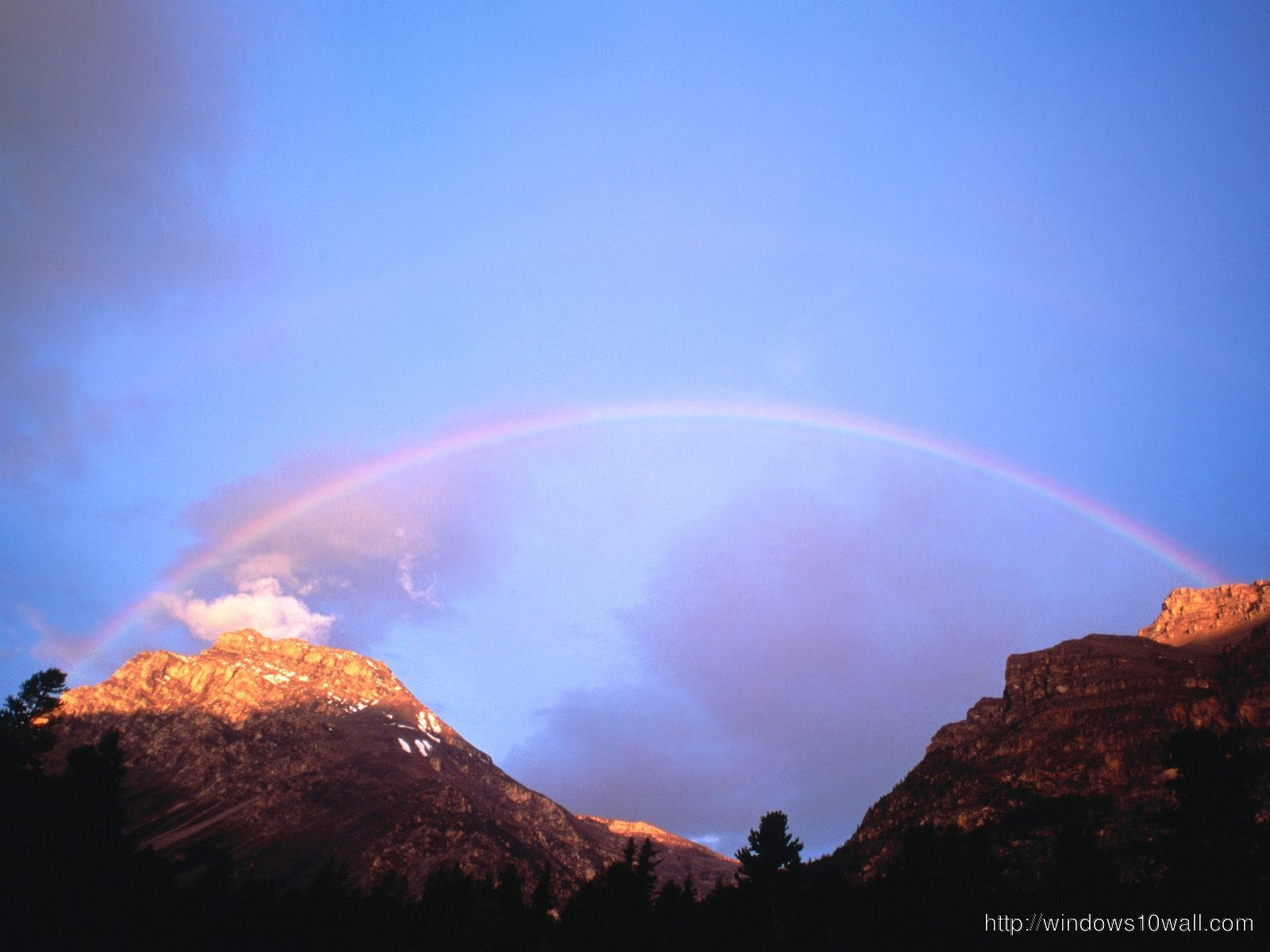 Nature Raiinbow Wallpaper