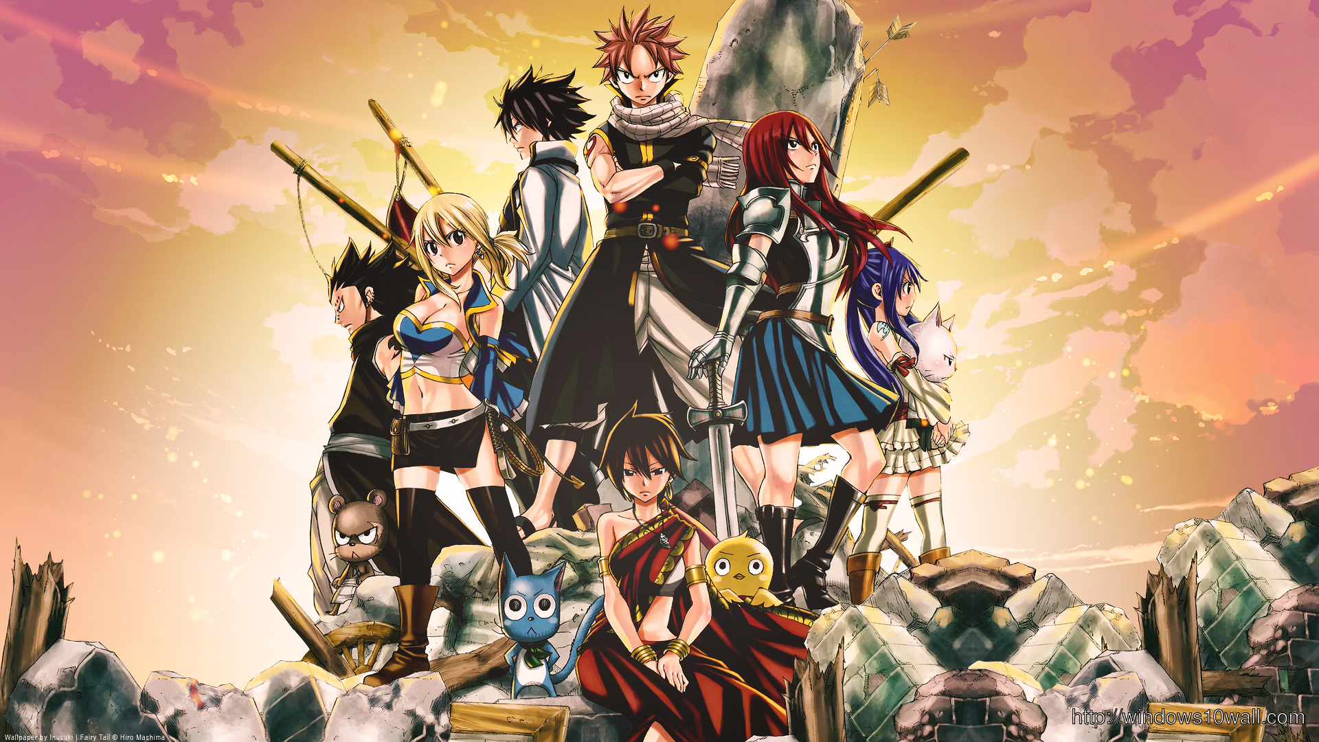 Fairy Tail HD Background Wallpaper