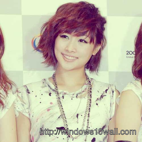 Cute Short Asian Hairstyles Wallpaper