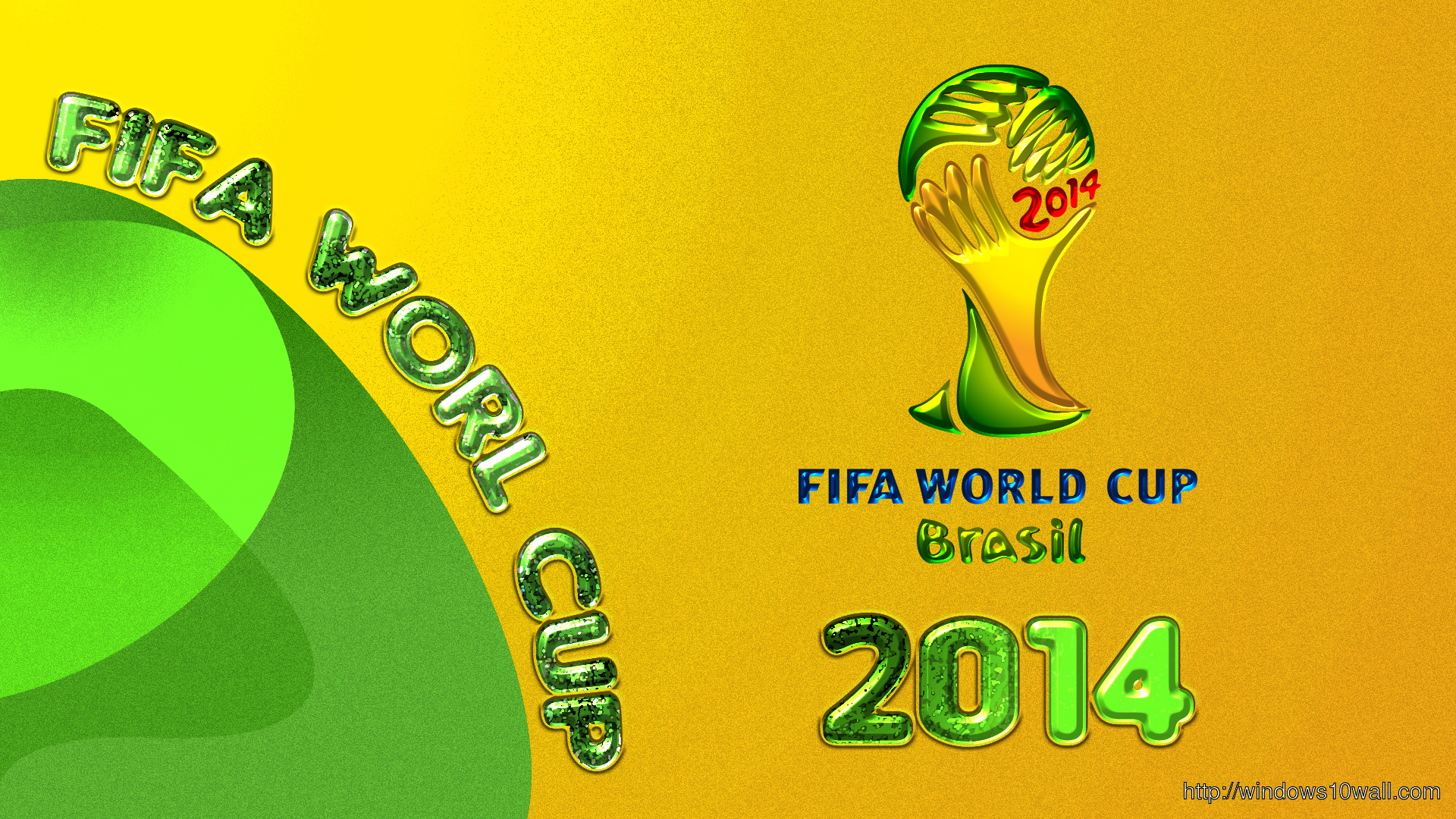 2014 Fifa World Cup Brazil HD Background Pic