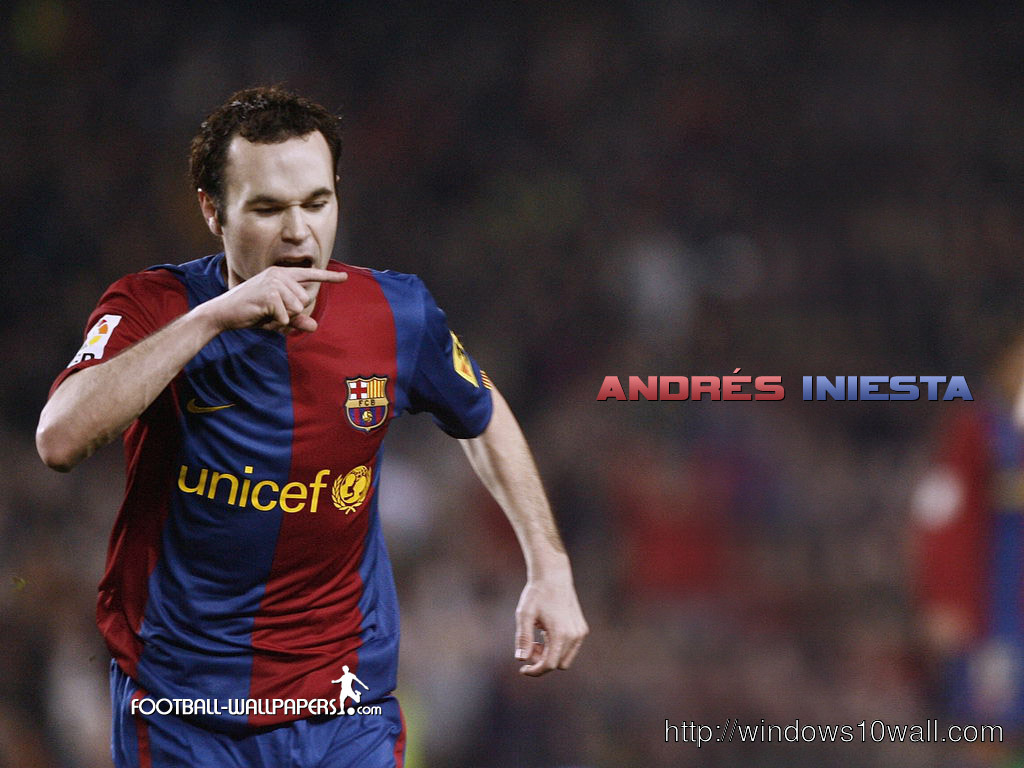 andres iniesta barcelona wallpaper andres iniesta spain no 6 andres