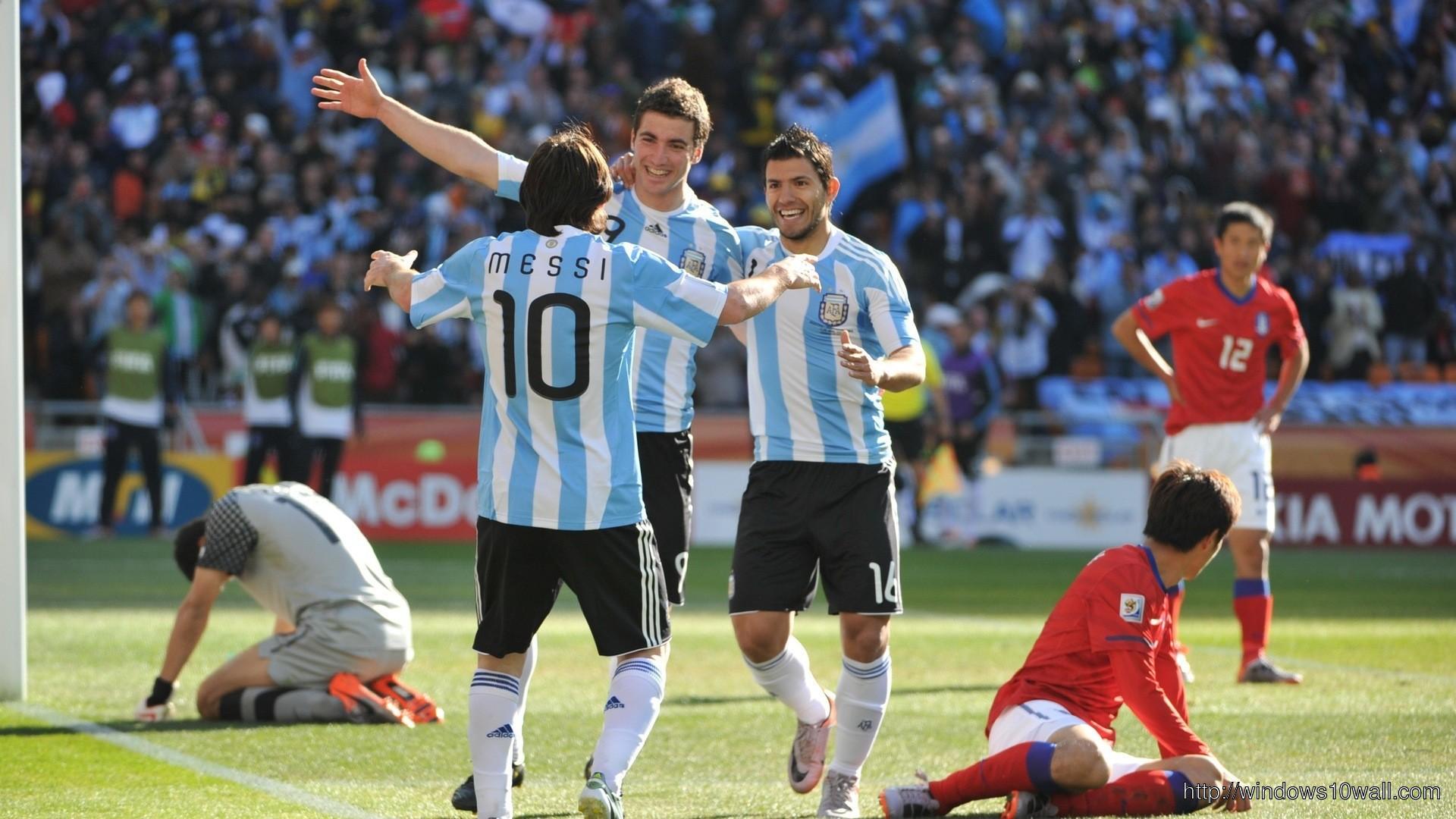 Argentina National Football Team Hd Free Wallpaper