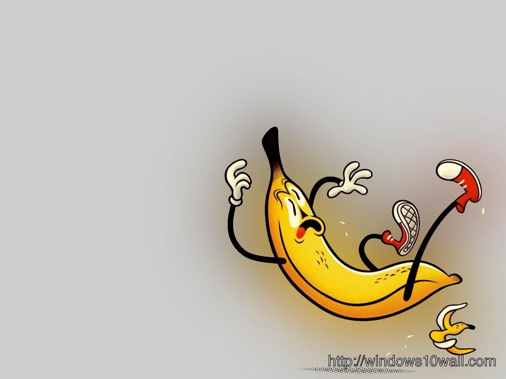 Banana Be Cerefuly HD Wallpaper - windows 10 Wallpapers