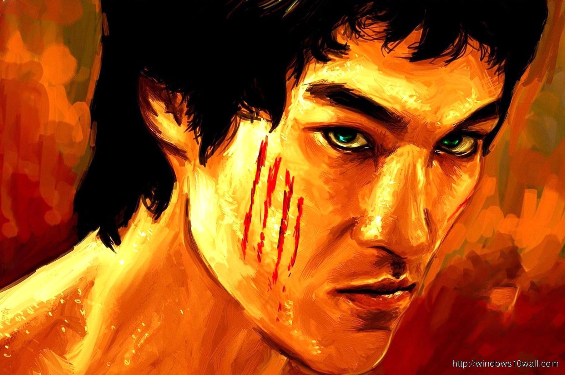 Bruce Lee WideScreen HD Wallpaper - windows 10 Wallpapers