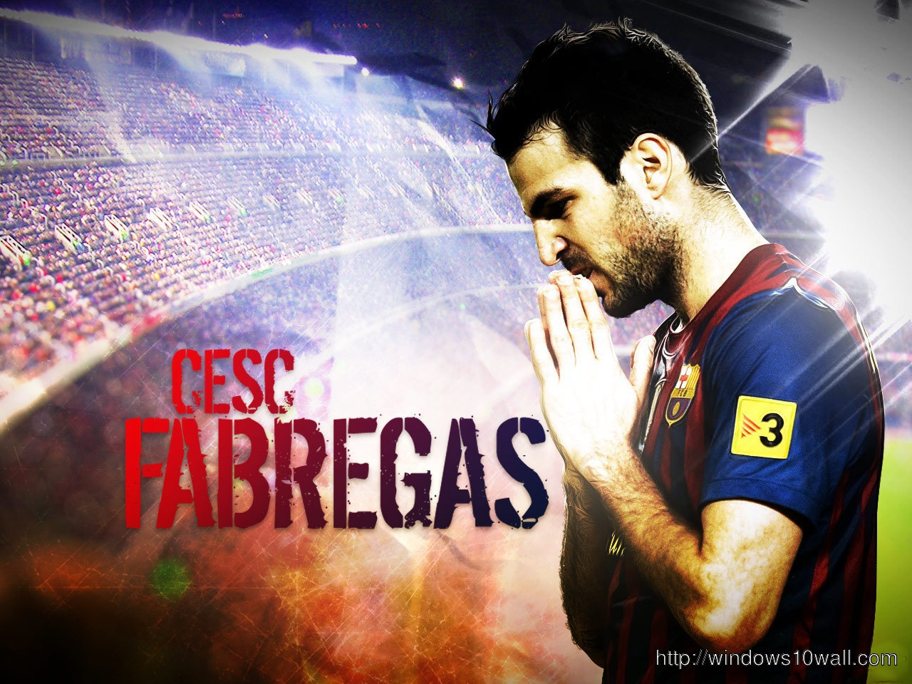 Cesc Fabregas New 2014 Hd Background Wallpaper