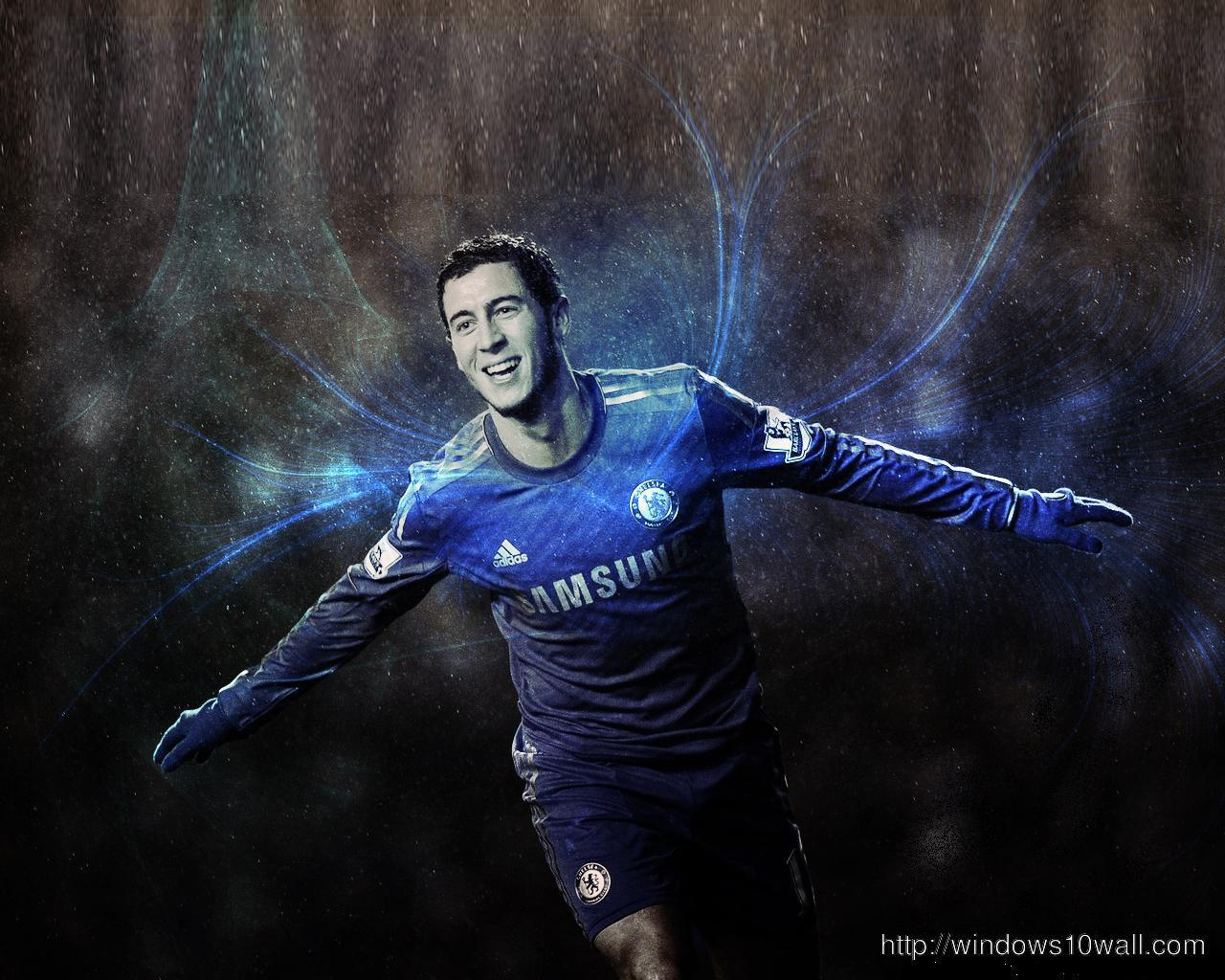 Eden Hazard 2012 HD Background Wallpaper