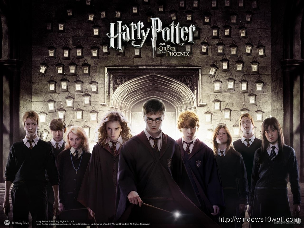 Harry Potter The Order Phoenix Hd Wallpaper