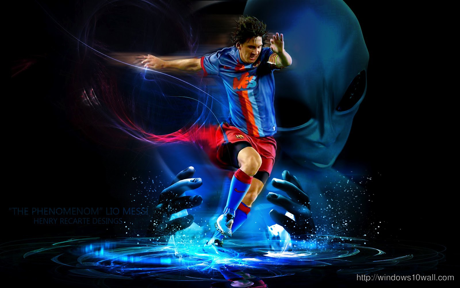 Lionel Messi Hd Windows 10 Wallpapers