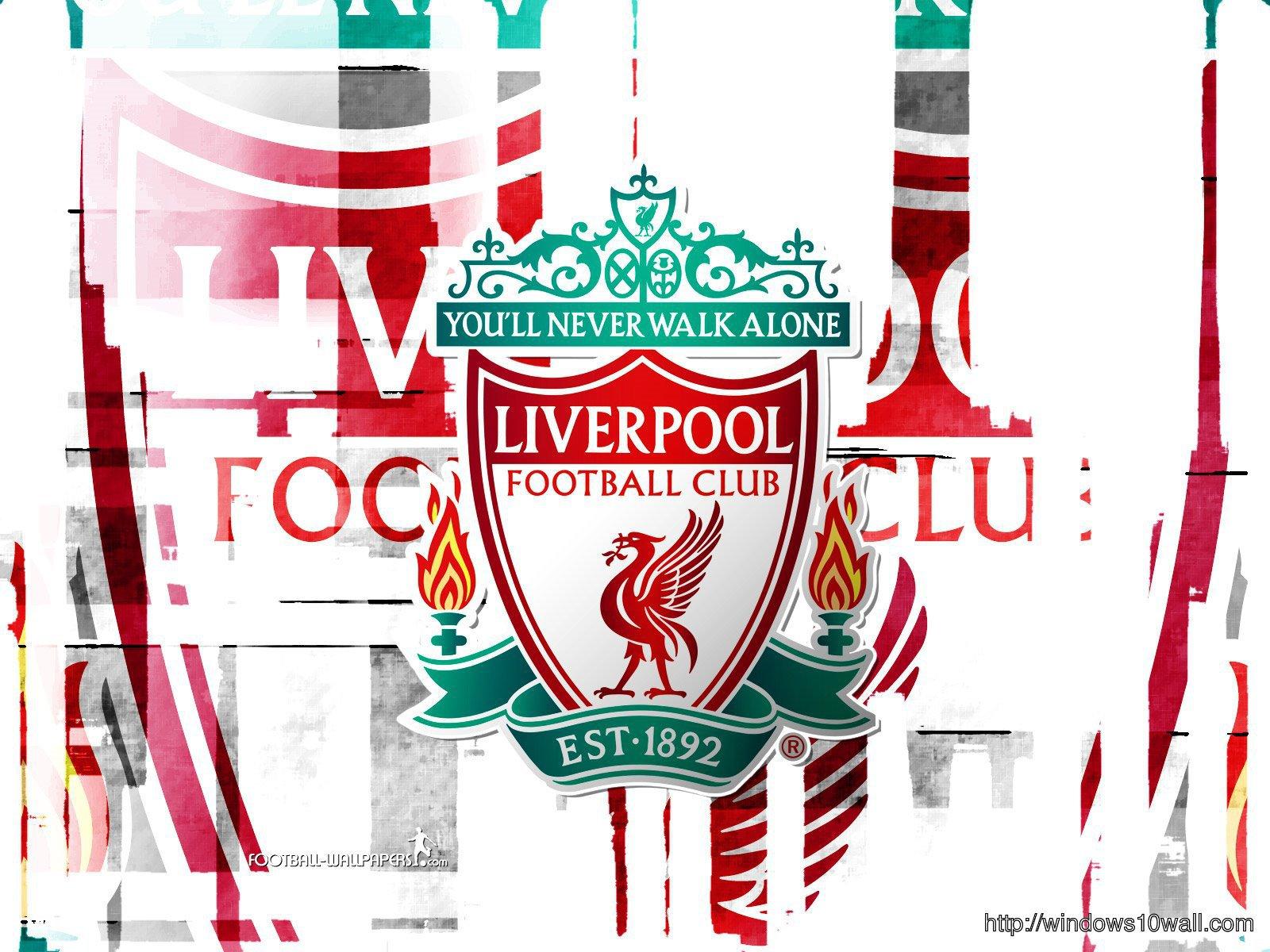 Liverpool Fc Logo Hd Wallpaper Windows 10 Wallpapers