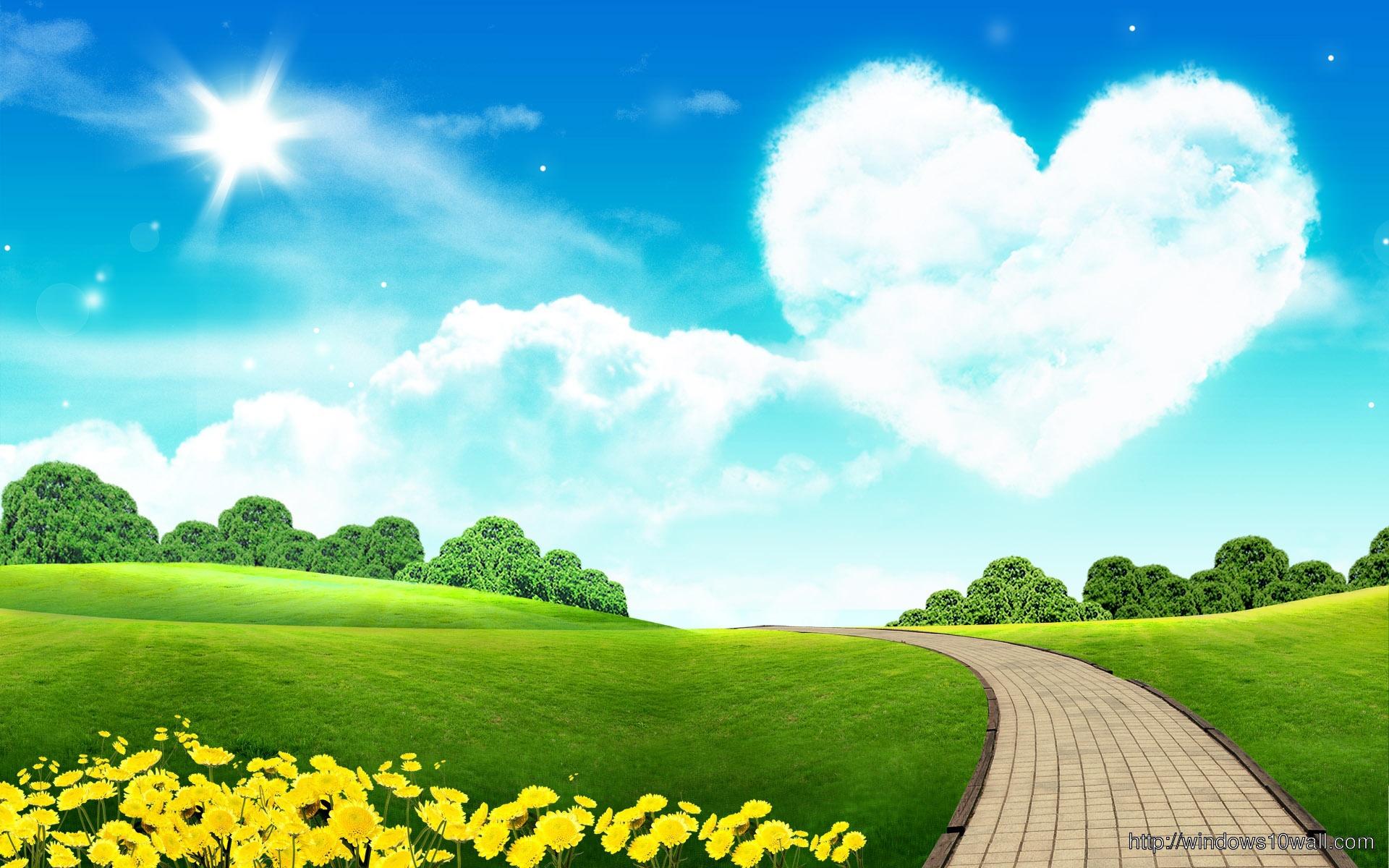 Lovely-Sky-HD-Free-Wallpaper