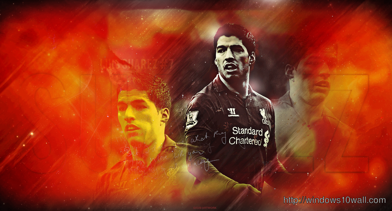 Liverpool windows 10 wallpapers - Suarez liverpool wallpaper ...
