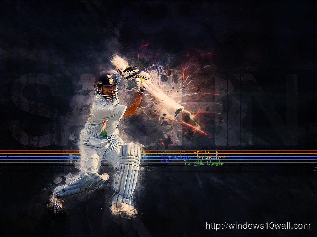 Sachin Tendulkar Master Blaster Hd Wallpaper Windows 10 Wallpapers