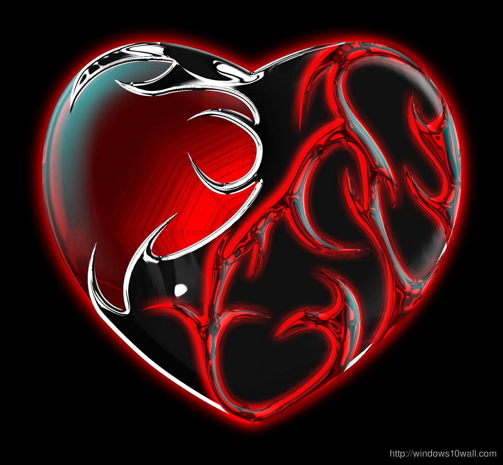 gothic heart pictures - HD 1600×1478