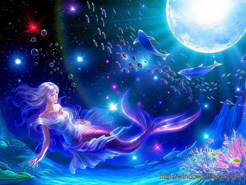 Animated Mermaid Wallpaper
