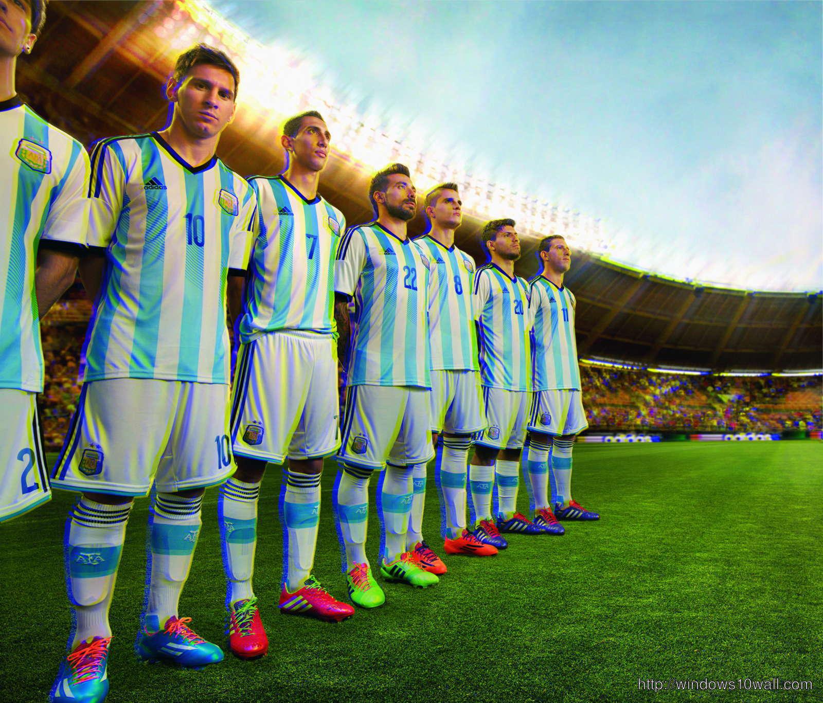 Argentina Team World Cup 2014 HD Wallpaper