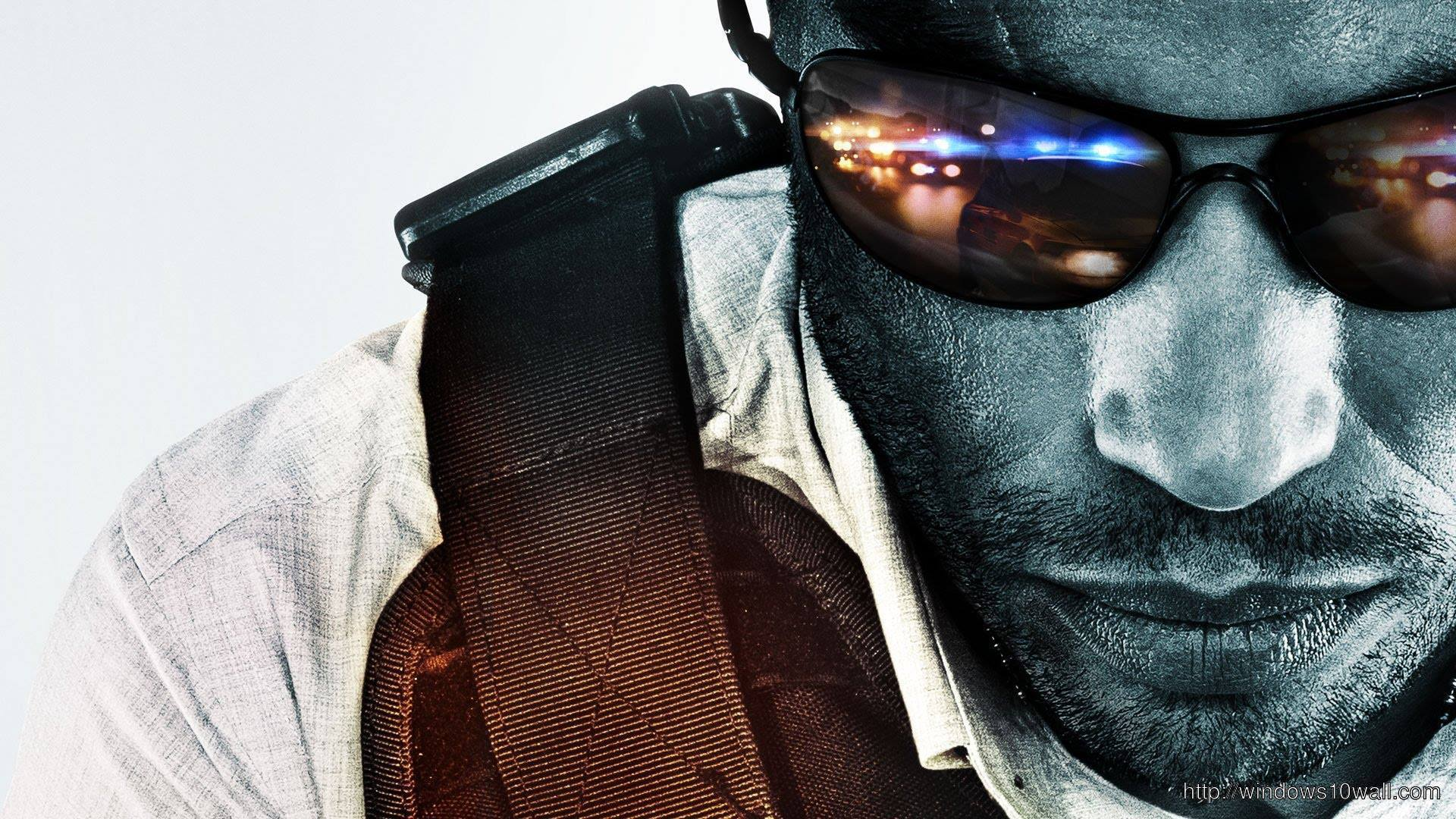 Battlefield Hardline HD Background Wallpaper