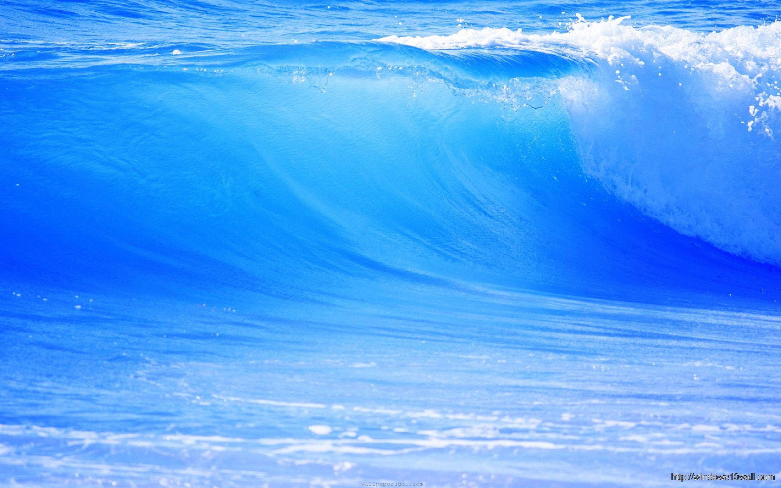 beach waves with beautiful wallpaper - photo #17