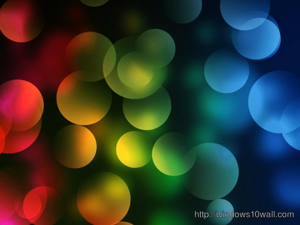Colorful Bubbles Hd Wallpaper